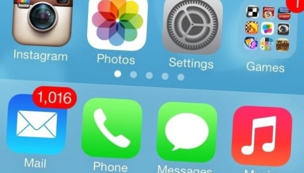 iOS 7 Mail bug