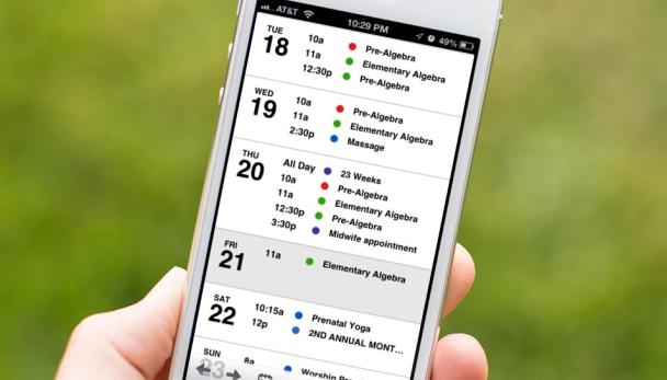 de 12 beste agenda apps voor je iphone computertotaal. Black Bedroom Furniture Sets. Home Design Ideas