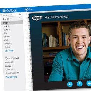 Outlook.com Skype