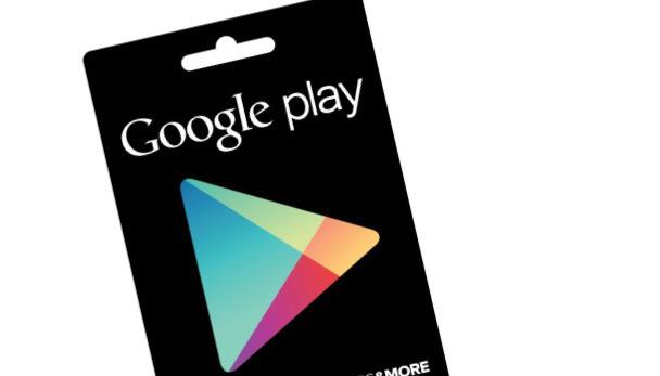 how to gift degital google play credit