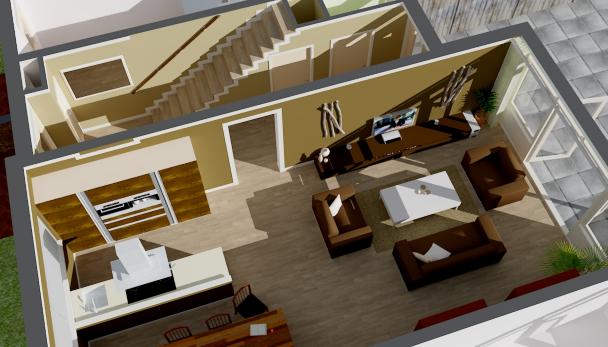 Ontwerp zelf je huis in 3d computertotaal for Plattegrond van je huis maken
