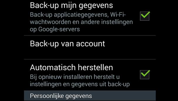 contacten overzetten van android naar iphone