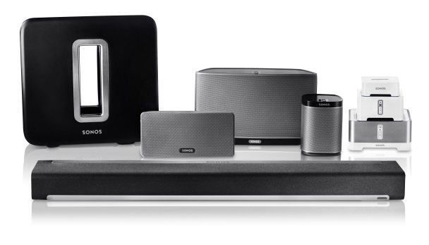 Sonos Woonkamer Opstelling : Sonos multiroom