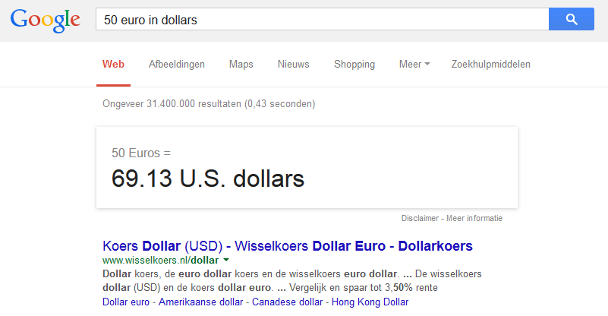Convert 1 USD to EUR; 1 US Dollar to Euro