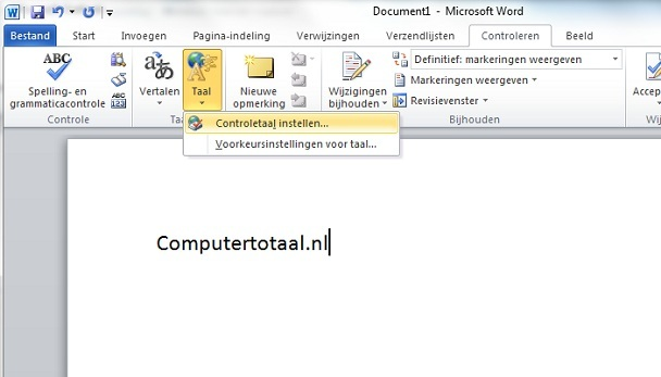 spellingscontrole word nederlands