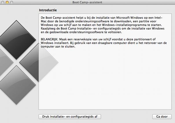 Handleiding windows op een mac installeren met behulp van boot camp mac macworld - Een verwijderbare partitie maken ...