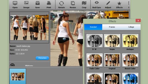 Photosun maakt veelvoorkomende bewerkingen eenvoudig een foto bewerken - Hoe een vierkante salon te voorzien ...