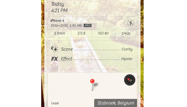 locatie op iphone